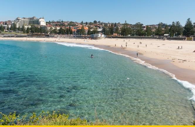 Coogee Beach plage de Sydney