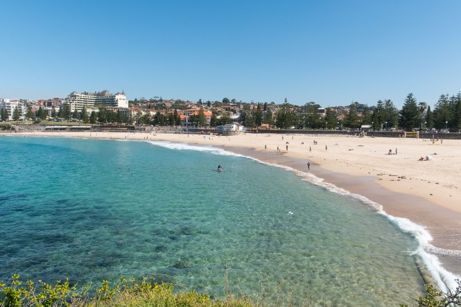 Coogee beach Coogee to Bondi walk