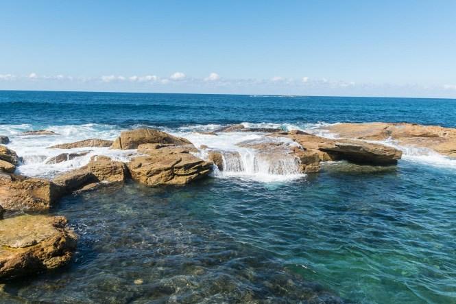 Giles Bath Ocean Pool Coogee to Bondi walk