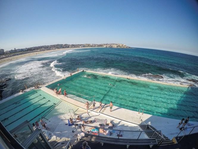 Bondi beach plage de Sydney