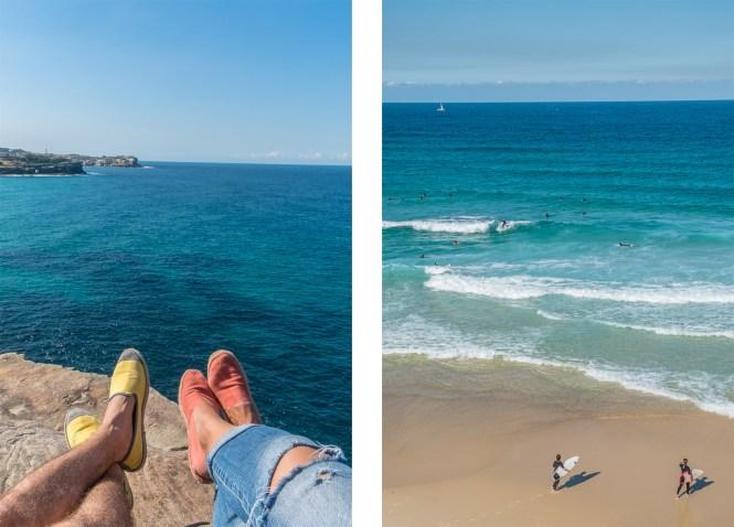 Bronte beach Coogee to Bondi walk