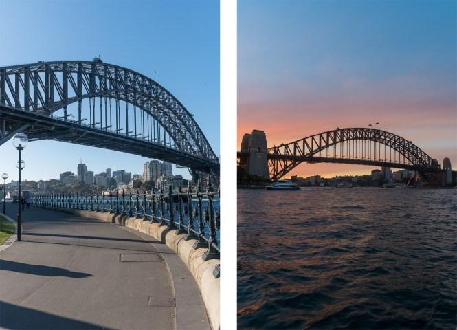 pont de Sydney Harbour bridge pied