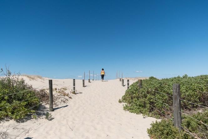 Birdie Beach du Munmorah State Conservation Area