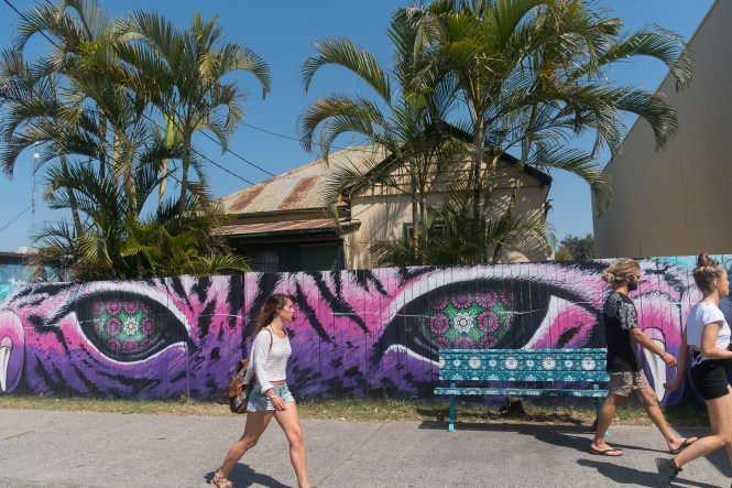 STREET ART BYRON BAY