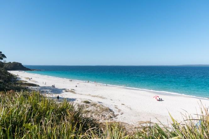 Little Hyams Beach shoalhaven jervis beach 100 beach challenge