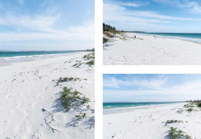 Warrain beach shoalhaven jervis bay 100 beach challenge