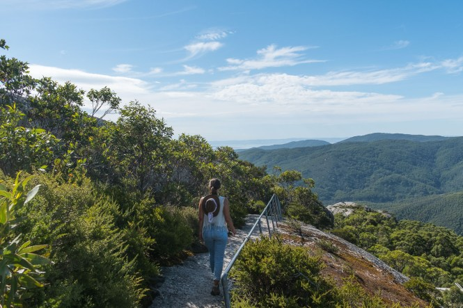 Mount Oberon Summit Track Wilsons Promontory laura