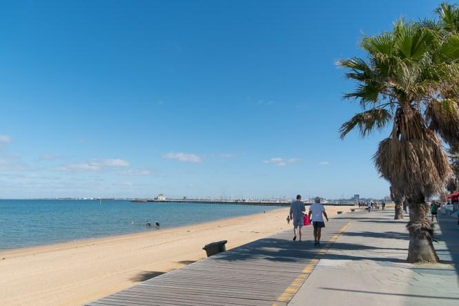 Que faire à Melbourne plage st kilda