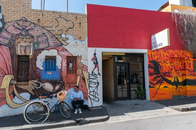 YARRA PLACE ET COVENTRY STREET MELBOURNE STREET ART