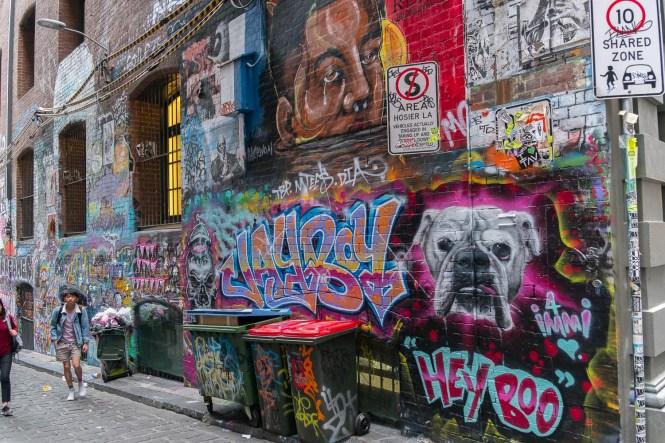 hosier lan melbourne street art