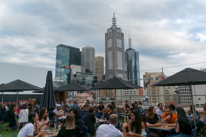 Rooftop Bar au 7ème étage visiter Melbourne Lifestyle