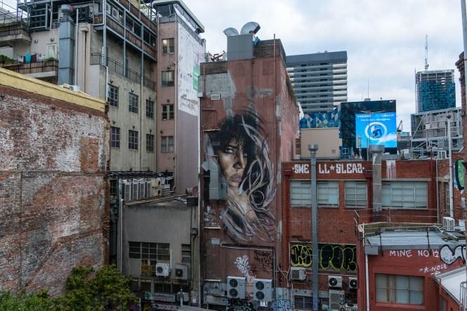 Rooftop Bar au 7ème étage Melbourne Lifestyle Street art