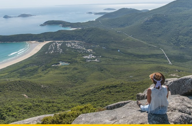 Mount Oberon Summit Track Wilsons Promontory
