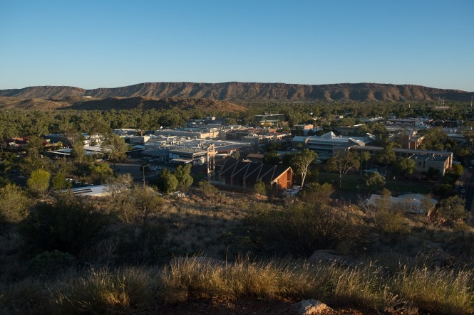 Anzac Hill d'Alice Springs Red centre