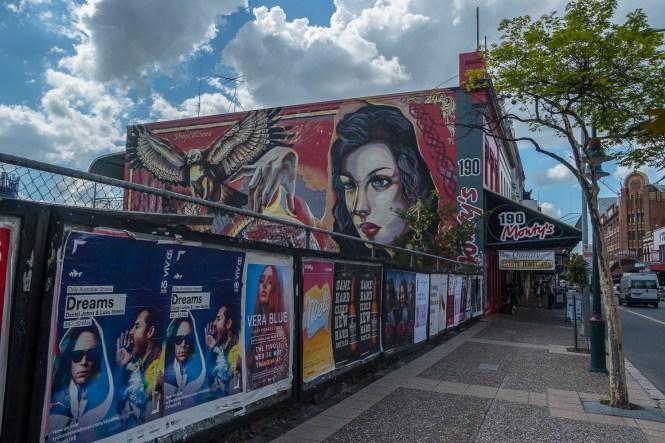 Street Art Chinatown visiter Brisbane