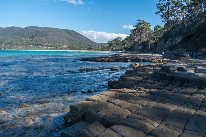 Tessellated Pavement ROAD TRIP en tasmanie itineraire 2 semaines
