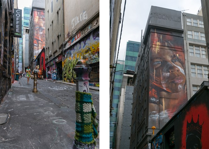 aneway MELBOURNE STREET ART