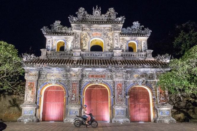 moto Itinéraire au Vietnam hue