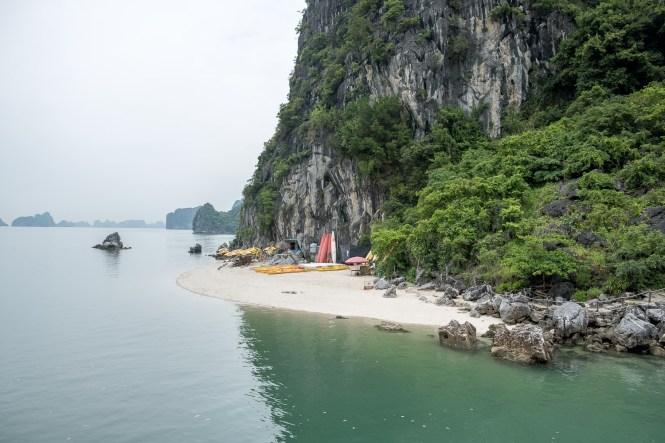 plage Itinéraire au Vietnam Ha Long Bai