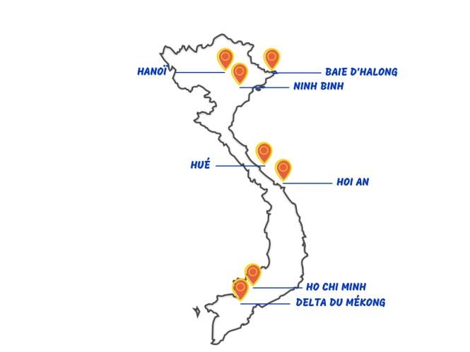 itinéraire budget vietnam