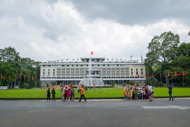 Palais de la réunification visiter Ho chi Minh