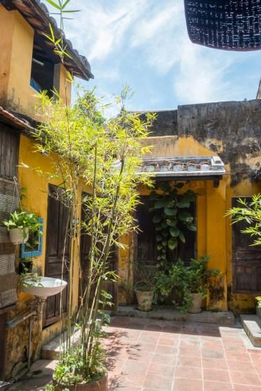 intérieur Maison TAN KY VISTER Hoi An vietnam