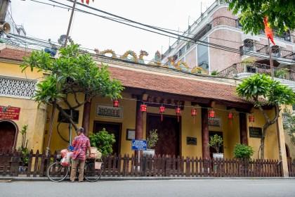 Bach Ma temple visiter hanoi