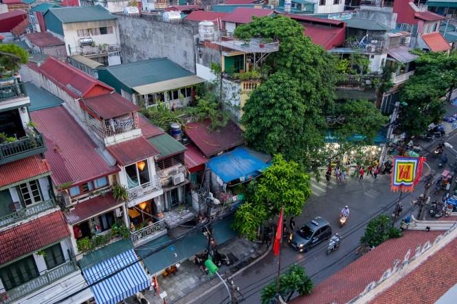 vue Rooftop du Mk Rooftop visiter hanoi