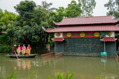marionnette village de Yen Duc bai tu long vietnam