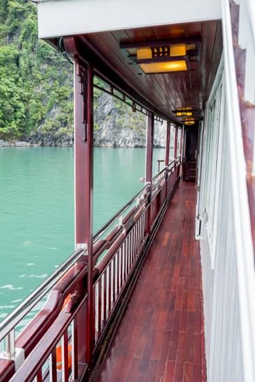 pont Dragon's Pearl Junk bai tu long vietnam
