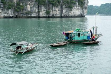 pécheurs Cong Dam bai tu long vietnam