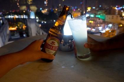 consommation Skyline Bar visiter hanoi
