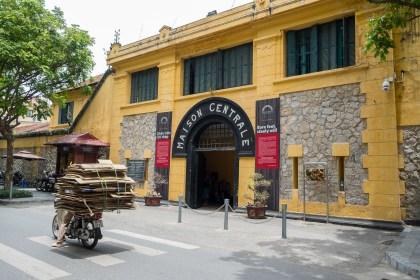 entrée Prison Hoa La visiter hanoi