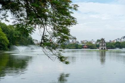 îlot de la Tortue visiter hanoi