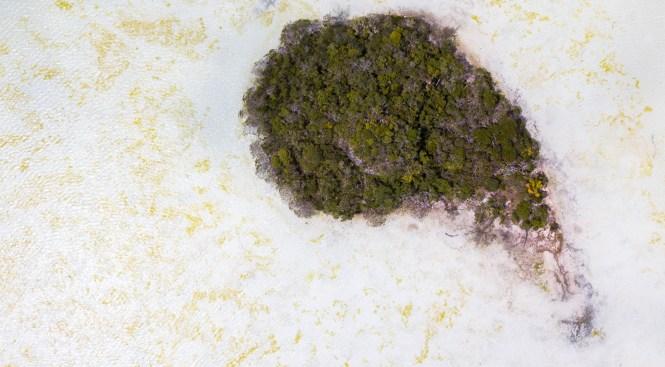 drone-baie-des-crabes-ile-des-pins-nouvelle-calédonie