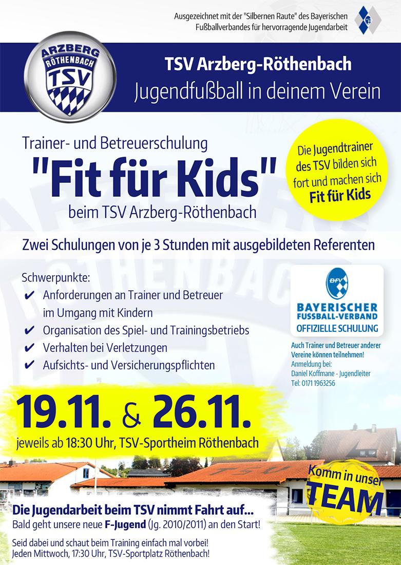 Fit-für-Kids-Anzeige