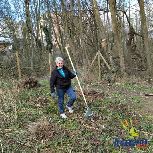 Wo Ellen werkelt, wächst keine Brombeerranke mehr :-)