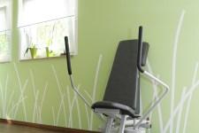 Gestaltung eines Fitnesstudios