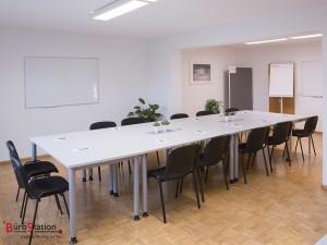 Büro-Station Seminarraum