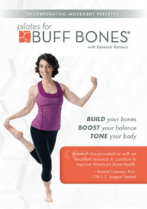 Cover of the Pilates for Buff Bones DVD