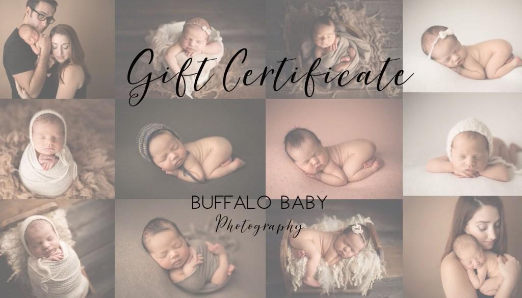Buffalo Baby Gift Certificate