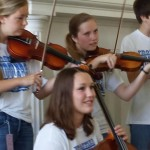 frontier fiddlers at Mumford 2014