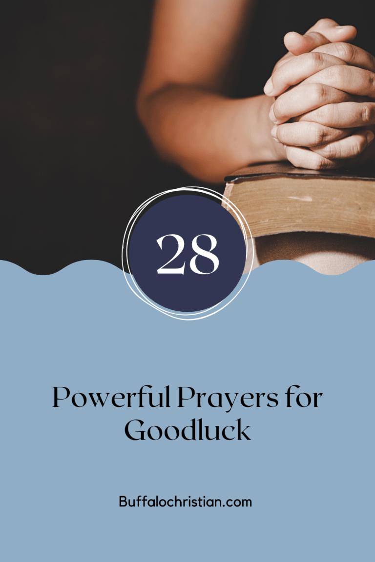 powerful prayers for good luck