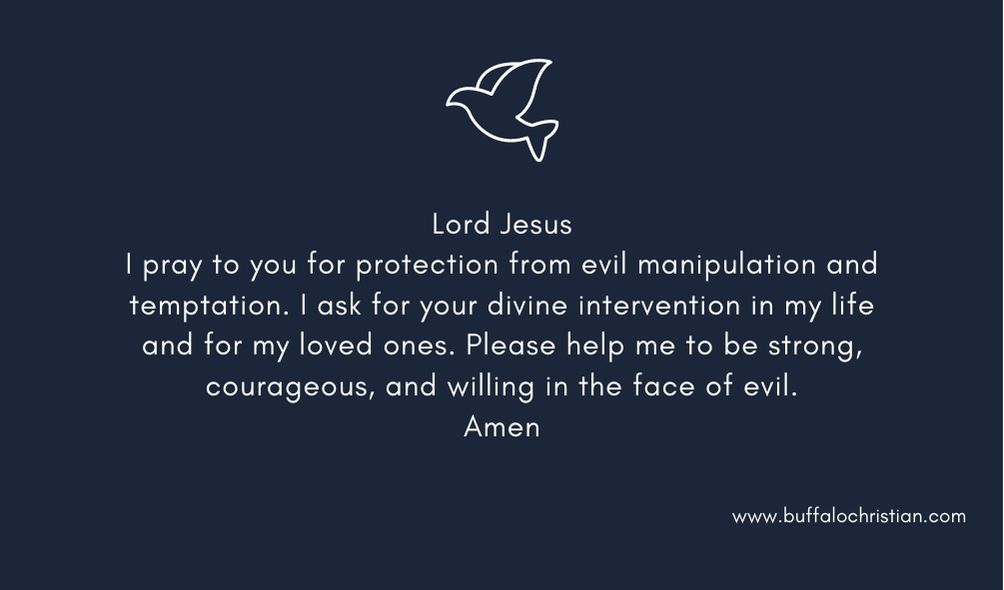 prayer to God for protecting home against evil