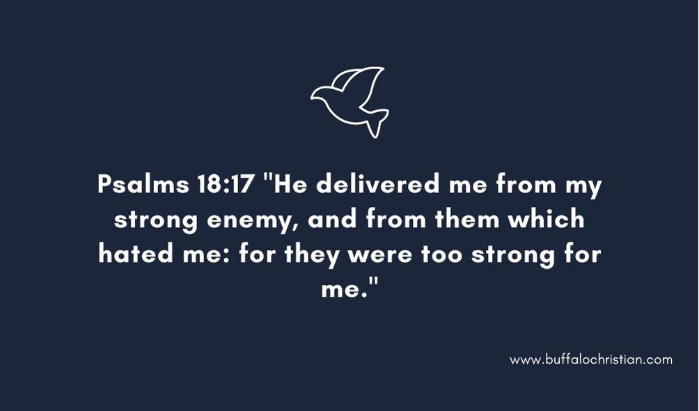 psalm bible verse on unfriendly friends enemies