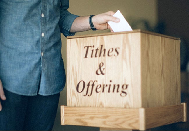 tithes and offering