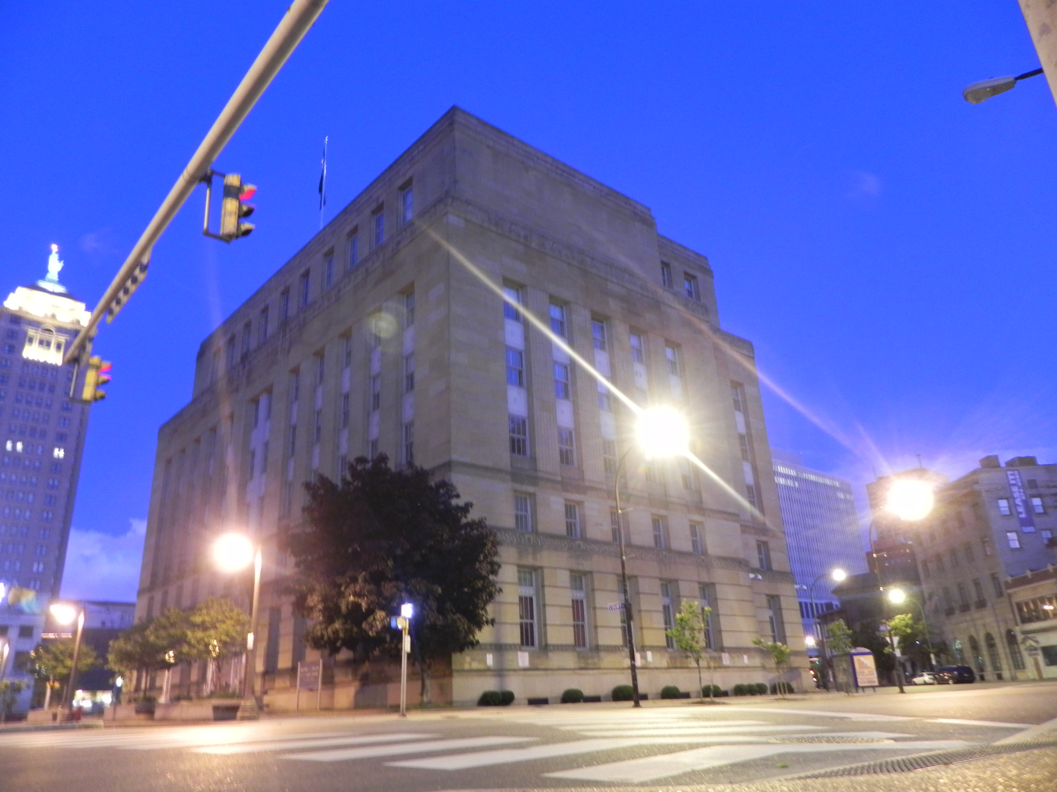 The former United States Federal Courthouse, which is now vacant.