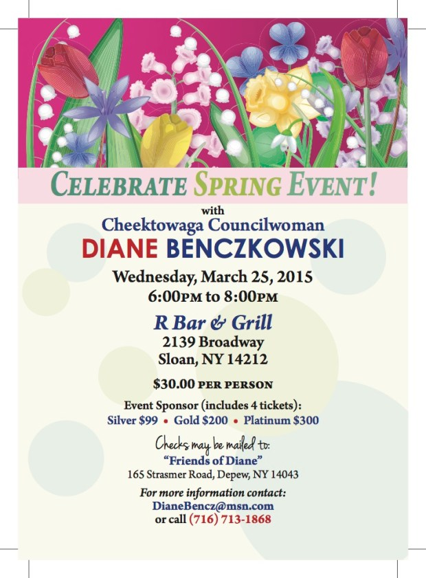 Diane B Celebrate Spring Event March 2015