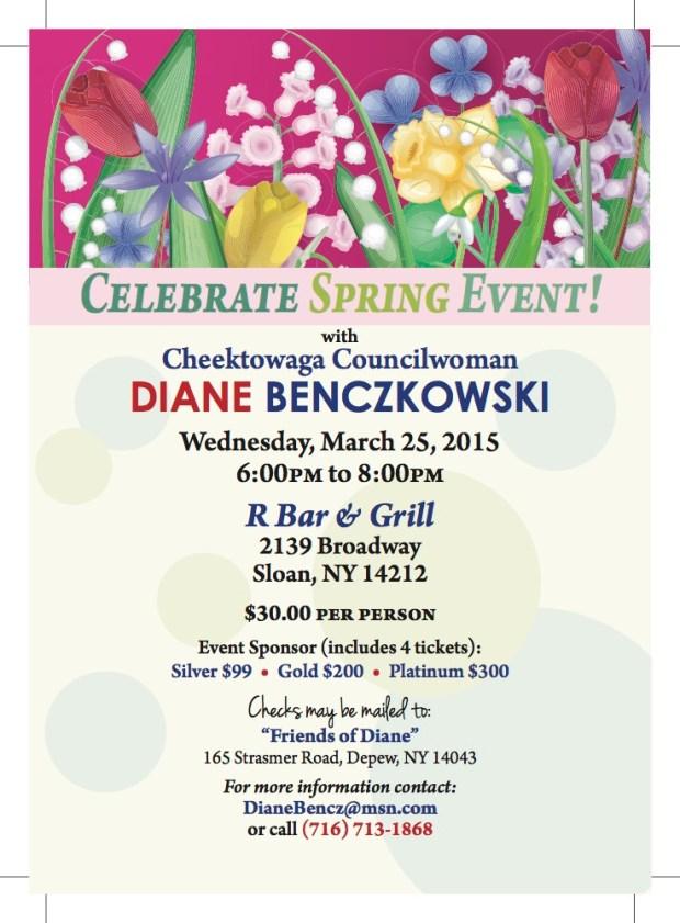 Diane B Celebrate Spring Event March 2015