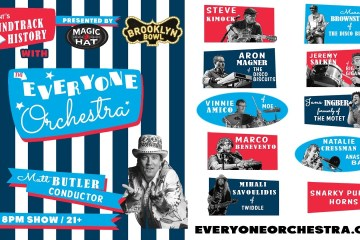 LIVE 8PM – Everyone Orchestra: Soundtrack to History 2016
